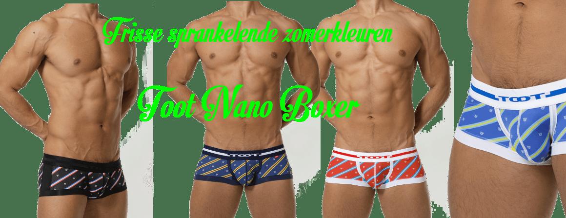 Toot Regimental Strip Nano Boxer